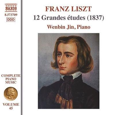 ジン・ウェンビン/Liszt: Complete Piano Music Vol.45 - 12 Grandes etudes[8573709]