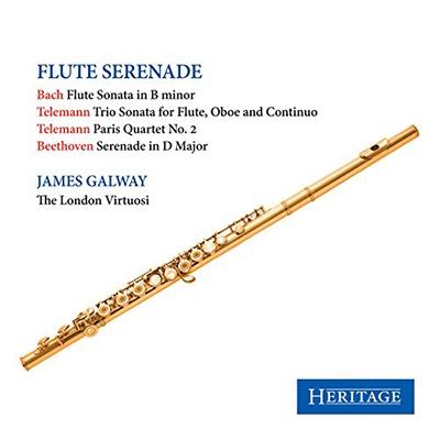 Flute Serenade - J.S.Bach, Telemann, Beethoven