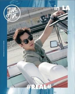 Jun Jin/#REAL# in LA: 2nd Mini Album (Repackage) [CD+DVD+フォトブック+カレンダー+ポップアップフレーム][L200001191]