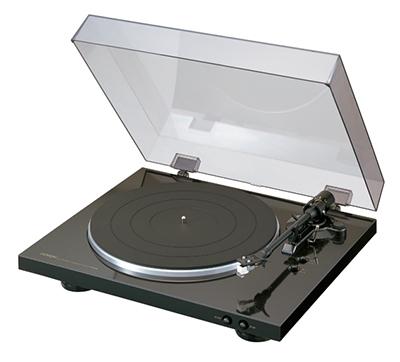DENON フルオート・レコード・プレイヤー DP300/Black [DP300FK]