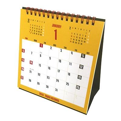 タワレコ 卓上カレンダー2019[MD01-4389]
