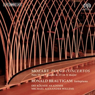 ロナルド・ブラウティハム/モーツァルト: ピアノ協奏曲集第4集 - 第19番, 第23番 [KKC5683]