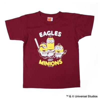 ミニオンズ×東北楽天ゴールデンイーグルス TシャツA (Kids)110 [4940378316999]