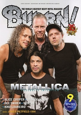 BURRN! 2020年9月号 Magazine