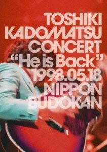 """He is Back"" 1998.05.18 日本武道館 DVD"