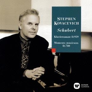 スティーヴン・コヴァセヴィッチ/シューベルト:ピアノ・ソナタ 第20番 楽興の時 D780[WPCS-23163]