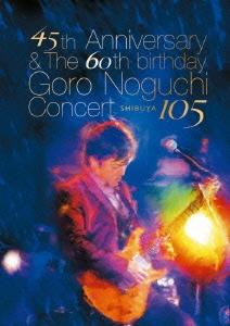 45th Anniversary & The 60th birthday Goro Noguchi Concert SHIBUYA 105 [Blu-ray Disc+野口五郎愛用PRSギター型USBメモリー]<数量限定生産盤>