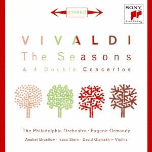 ユージン・オーマンディ/ヴィヴァルディ:四季&2つのヴァイオリンのための協奏曲 [SICC-2137]