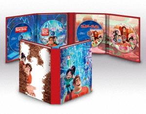 シュガー・ラッシュ:2ムービー・コレクション [2Blu-ray Disc+2DVD]<数量限定版> Blu-ray Disc