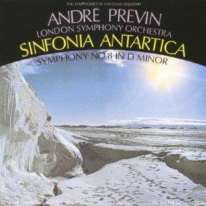 ロンドン交響楽団/Andre Previn RCA Years::ヴォーン・ウィリアムズ:交響曲全集VI 南極交響曲(第7番)&交響曲第8番[BVCC-38483]