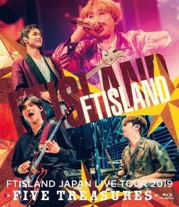 JAPAN LIVE TOUR 2019 -FIVE TREASURES- at WORLD HALL Blu-ray Disc
