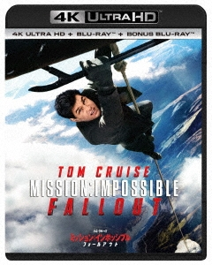 クリストファー・マッカリー/ミッション:インポッシブル/フォールアウト [4K Ultra HD Blu-ray+Blu-ray]<初回仕様> [PJXF-1190X]