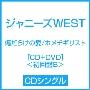 傷だらけの愛/ホメチギリスト [CD+DVD]<初回盤B>