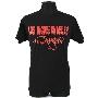 新日本プロレス ロス・インゴベルナブレス・デ・ハポン T-shirt(ブラック×レッド)/Mサイズ