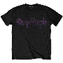 DEEP PURPLE VINTAGE LOGO T-shirt/Lサイズ