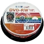 HIDISK 繰り返し録画用DVD-RW 2倍速 10枚スピンドル HDDRW12NCP10