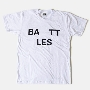 Battles/Logo T-Shirts White Mサイズ