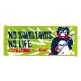 NO SWALLOWS, NO LIFE. フェイスタオルつば九郎_GREEN