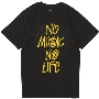 TOWER RECORDS × STUSSY NMNL WORLD TOUR TEE Black/Sサイズ