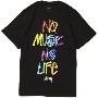TOWER RECORDS × STUSSY NMNL3D TEE Black/Mサイズ