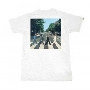 The Beatles/ABBEY ROAD WALK WHITE Tシャツ Sサイズ