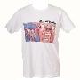 King Crimson/クリムゾン・キングの宮殿 T-Shirt ホワイト Lサイズ