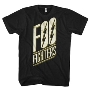 FOO FIGHTERS SLANTED LOGO MENS SOFT T-SHIRT Mサイズ