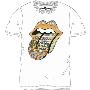 THE ROLLING STONES T-shirt White/Mサイズ
