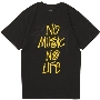 TOWER RECORDS × STUSSY NMNL WORLD TOUR TEE Black/Lサイズ