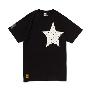 TOWER RECORDS×CHUMS STAR POCKET TEE '13 BLACK/Sサイズ