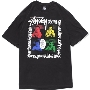 TOWER RECORDS × STUSSY 「Youth Brigade」 T-shirt Black/XLサイズ