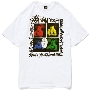 TOWER RECORDS × STUSSY 「Youth Brigade」 T-shirt White/XLサイズ