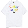 TOWER RECORDS × STUSSY 「NMNL2」 T-shirt White/XLサイズ