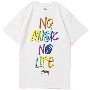 TOWER RECORDS × STUSSY NMNL3D TEE White/XLサイズ