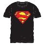 スーパーマン 半袖T-shirt Black/Lサイズ