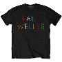 PAUL WELLER MULTICOLOUR LOGO T-shirt/Lサイズ