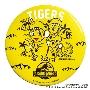 JURASSIC WORLD × 阪神タイガース ドデカ缶バッジ