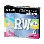 TDK データ用CD-RW 700MB カラ-MIX 1-4倍速 5P