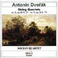 Dvorak: String Quartets no 8 and no 9 / Kocian Quartet