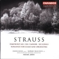 Strauss: Symphony no 2, Songs, Romanze / N. Jaervi, et al