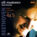 "Beethoven: Piano Concertos No.4 Op.58, No.5 Op.73 ""Emperor"" / Olli Mustonen, Tapiola Sinfonietta"
