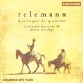 Telemann: Burlesque de Quixote, etc / Standage, et al