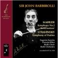 """Mahler: Symphony No.2 """"Resurrection""""; Stravinsky: Symphony of Psalms"""