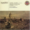 Handel : Water Music, Music For The Royal Firework / Boulez, NYP