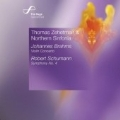 Brahms:Violin Concerto/Schumann:Symphony No.4 (1841 Version) (12/9-11/2006):Thomas Zehetmair(vn/cond)/Northern Sinfonia