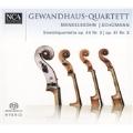 Mendelssohn: Streichquartette, Op. 44/3; Schumann: Streichquartette, Op. 41/3