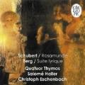 """Schubert: String Quartet No.13 """"Rosamunde""""; Berg: Lyric Suite, etc / Quatuor Thymos, Salome Haller, etc"""