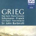 Grieg: Peer Gynt, etc;  Schumann, Franck / Barbirolli