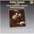 ロッシーニ: 「泥棒かささぎ」序曲、メンデルスゾーン: 交響曲第4番「イタリア」、ベートーヴェン: 交響曲第5番「運命」より第2,3,4楽章