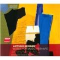 Arthur Berger: Words for Music, Perhaps, etc